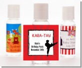 Karate Kid - Personalized Birthday Party Hand Sanitizers Favors