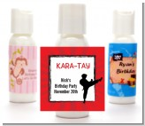 Karate Kid - Personalized Birthday Party Lotion Favors