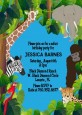 King of the Jungle Safari - Baby Shower Invitations thumbnail