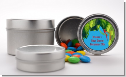 King of the Jungle Safari - Custom Baby Shower Favor Tins