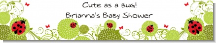 Ladybug - Personalized Baby Shower Banners