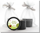 Ladybug - Baby Shower Black Candle Tin Favors
