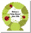 Ladybug - Personalized Baby Shower Centerpiece Stand thumbnail