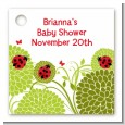 Ladybug - Personalized Baby Shower Card Stock Favor Tags thumbnail