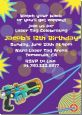 Laser Tag - Birthday Party Invitations thumbnail