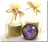 Laser Tag - Birthday Party Gold Tin Candle Favors