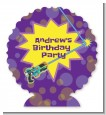 Laser Tag - Personalized Birthday Party Centerpiece Stand thumbnail
