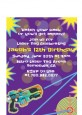 Laser Tag - Birthday Party Petite Invitations thumbnail