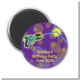 Laser Tag - Personalized Birthday Party Magnet Favors