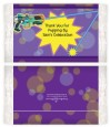 Laser Tag - Personalized Popcorn Wrapper Birthday Party Favors thumbnail