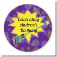 Laser Tag - Personalized Birthday Party Table Confetti thumbnail