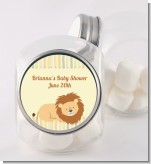 Lion - Personalized Baby Shower Candy Jar