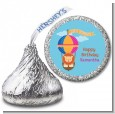 Lion - Hershey Kiss Birthday Party Sticker Labels thumbnail