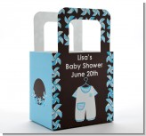 Little Boy Outfit - Personalized Baby Shower Favor Boxes