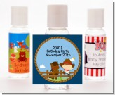 Little Cowboy - Personalized Baby Shower Hand Sanitizers Favors