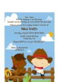 Little Cowboy - Baby Shower Petite Invitations thumbnail