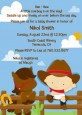 Little Cowboy - Baby Shower Invitations thumbnail