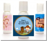 Little Cowboy - Personalized Baby Shower Lotion Favors
