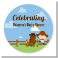 Little Cowboy - Personalized Baby Shower Table Confetti thumbnail