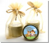 Little Cowgirl - Baby Shower Gold Tin Candle Favors