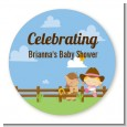 Little Cowgirl - Personalized Baby Shower Table Confetti thumbnail