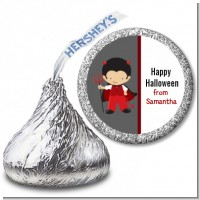 Little Devil - Hershey Kiss Halloween Sticker Labels