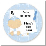 Little Doctor On The Way - Personalized Baby Shower Table Confetti
