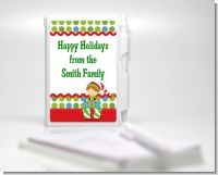 Santa's Little Elf - Baby Shower Personalized Notebook Favor