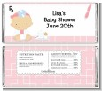 Little Girl Doctor On The Way - Personalized Baby Shower Candy Bar Wrappers thumbnail
