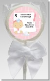 Little Girl Doctor On The Way - Personalized Baby Shower Lollipop Favors