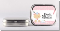 Little Girl Doctor On The Way - Personalized Baby Shower Mint Tins