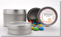 Little Girl Nurse On The Way - Custom Baby Shower Favor Tins