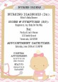 Little Girl Nurse On The Way - Baby Shower Invitations thumbnail