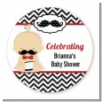 Little Man Mustache Black/Grey - Personalized Baby Shower Table Confetti thumbnail