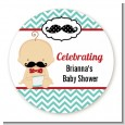 Little Man Mustache - Personalized Baby Shower Table Confetti thumbnail