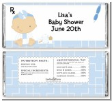 Little Doctor On The Way - Personalized Baby Shower Candy Bar Wrappers
