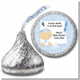 Little Doctor On The Way - Hershey Kiss Baby Shower Sticker Labels