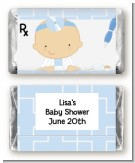 Little Doctor On The Way - Personalized Baby Shower Mini Candy Bar Wrappers