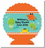 Little Monster - Personalized Baby Shower Centerpiece Stand