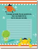 Little Monster - Baby Shower Notes of Advice