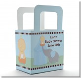 Our Little Peanut Boy - Personalized Baby Shower Favor Boxes
