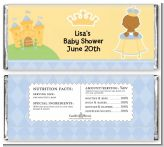 Little Prince African American - Personalized Baby Shower Candy Bar Wrappers