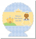 Little Prince African American - Personalized Baby Shower Centerpiece Stand