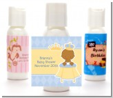 Little Prince African American - Personalized Baby Shower Lotion Favors
