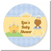 Little Prince African American - Personalized Baby Shower Table Confetti
