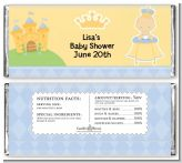 Little Prince - Personalized Baby Shower Candy Bar Wrappers