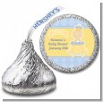 Little Prince - Hershey Kiss Baby Shower Sticker Labels thumbnail