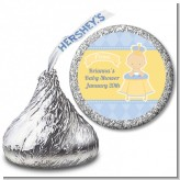 Little Prince - Hershey Kiss Baby Shower Sticker Labels