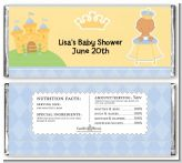 Little Prince Hispanic - Personalized Baby Shower Candy Bar Wrappers