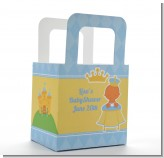 Little Prince Hispanic - Personalized Baby Shower Favor Boxes